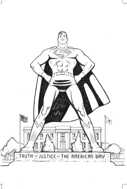 superman metropolis poster