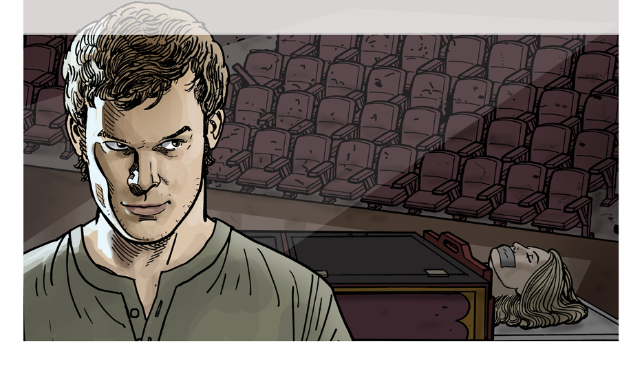 Dexter: The Early Cuts | Ty Templeton's ART LAND!!