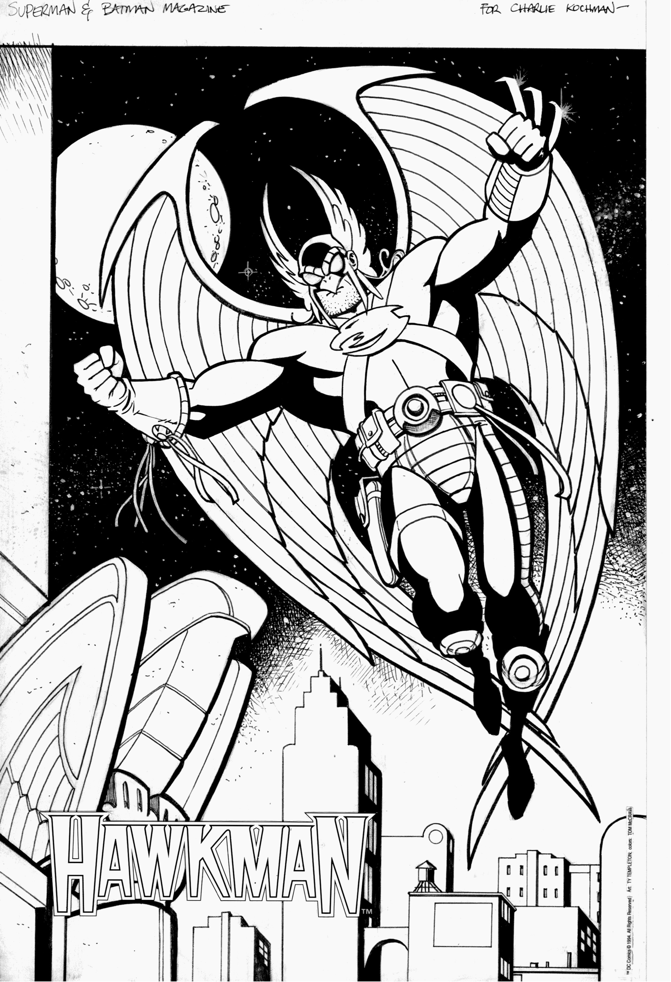hawkman coloring pages - photo#36