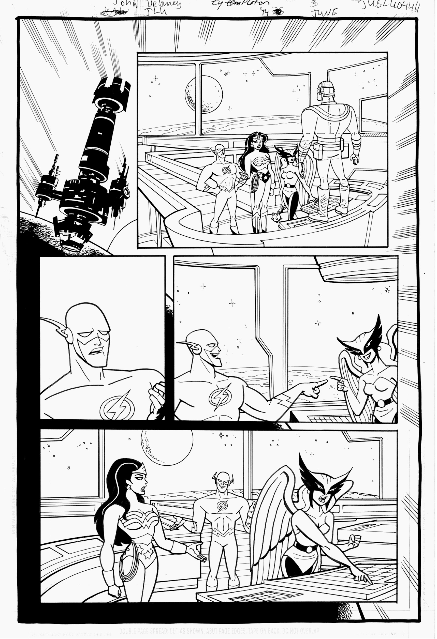 Justice League Unlimited Coloring Pages - Coloring Home | 2514x1718