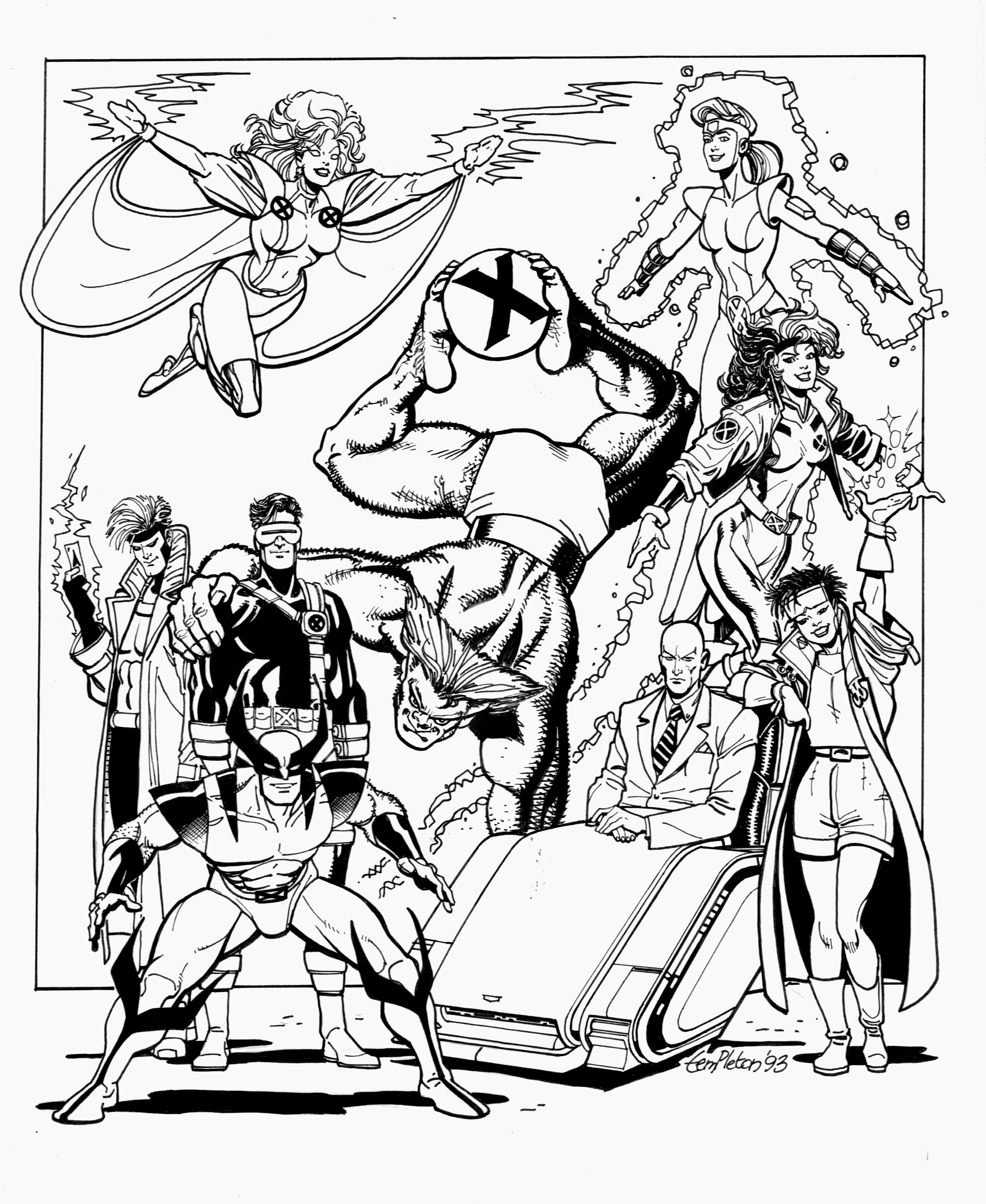 Coloring pages 90s - And It S