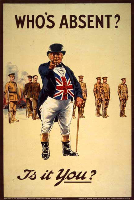 world war recruiting posters. recruitment posters | Ty