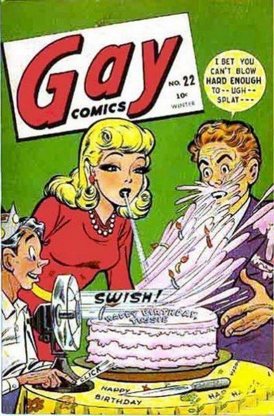 gay comic book: