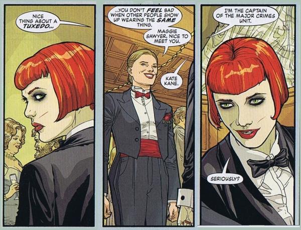 Kate Kane Batwoman Elegy Maggie Chase Tuxedos