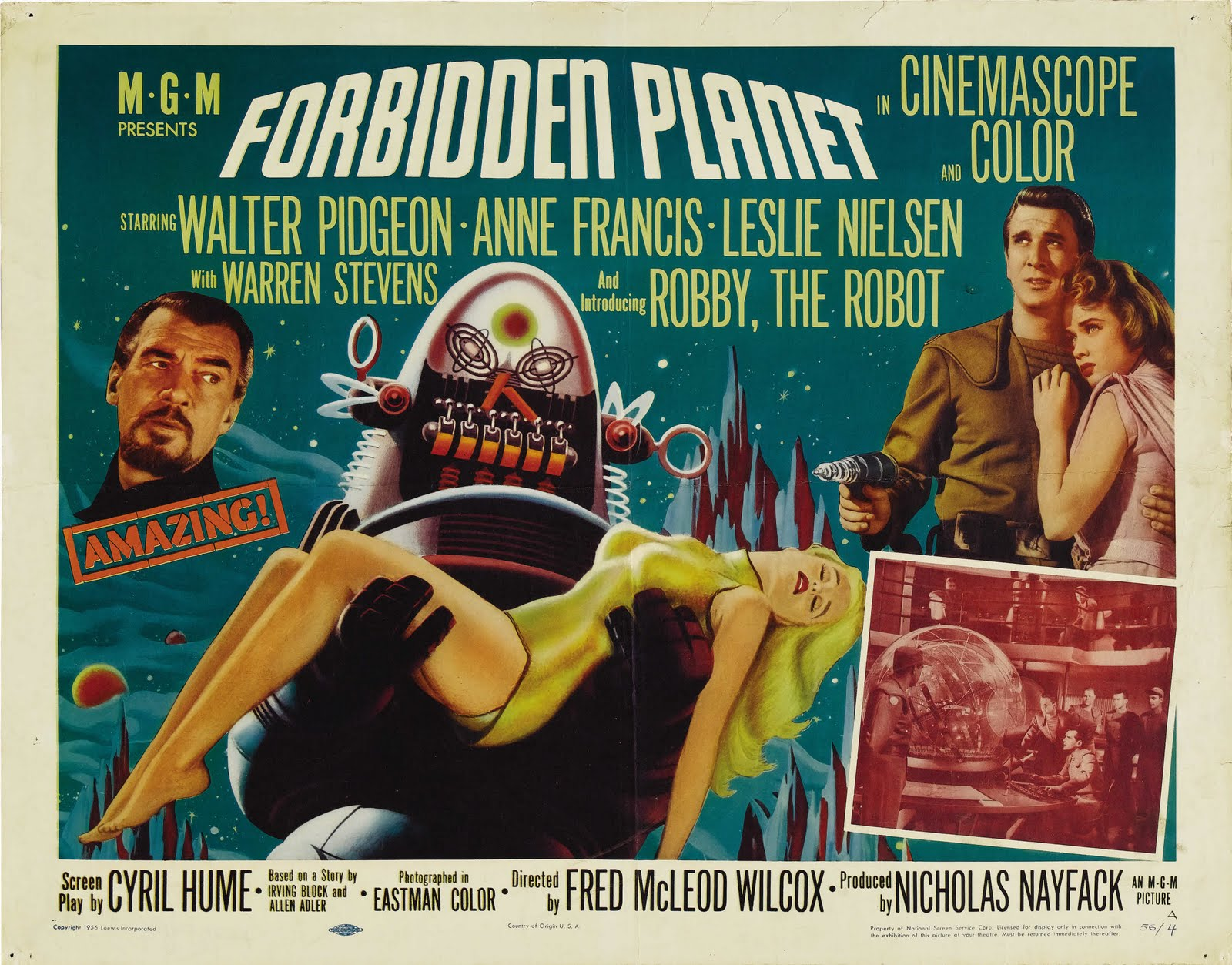 forbidden planet Return to the forbidden planet started life with the bubble theatre company as an open-air performance in a tent a revised in-door production appeared at the everyman theatre in liverpool and the tricycle theatre in london.