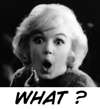 Marilyn Monroe Shocked