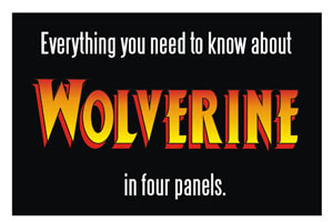 wolverine in four panels link