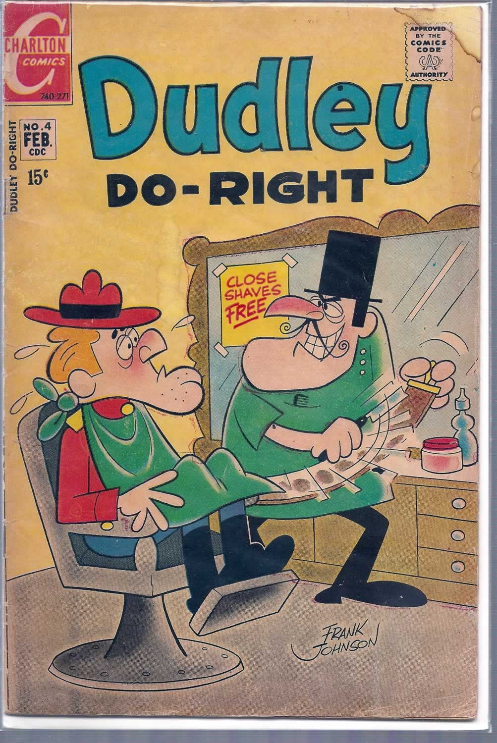 10- Dudley Do-Right