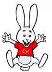 jumping joy bunny 2