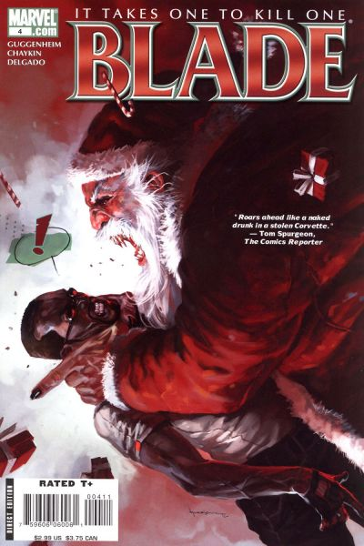 Singing sword of santa the top seven santas with a bladed