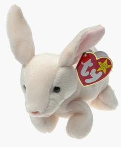 "This is ""Nibbler"", introduced in 1998 by Ty Inc. (the Beanie Baby people)."