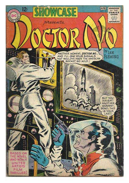 The first James Bond comic book ever, and DC had it!