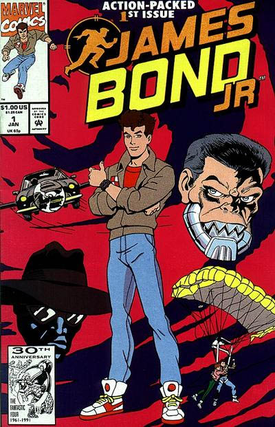 "The spin-off cartoon series ""JAMES BOND JR."" from the early 90s was my only professional involvement with this franchise.  I storyboarded a couple of acts of some of the TV episodes of this series.  As odd as this was, I like that I dipped my toe into the Bond-Verse just the once."