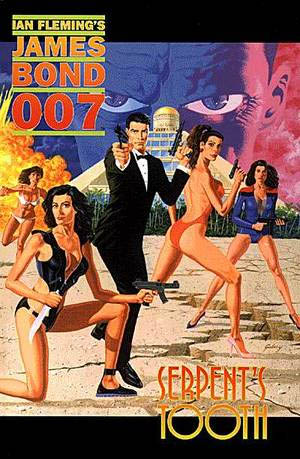 If you can get over the odd giraffe ladies that populate this book, this was, hands down, the best of the many James Bond comics produced since that first one.