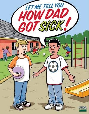 usda comic book