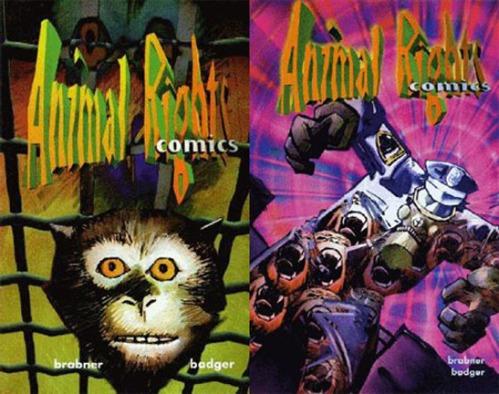 animal rights comics