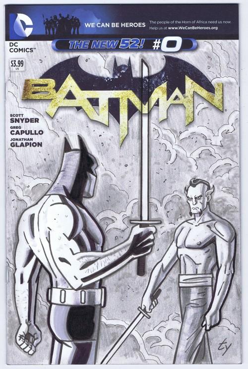 batman and ras swordfight