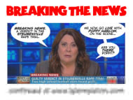 For last week's RIPPED FROM THE HEADLINES Bun Toon, click Candy Crowley's giant head