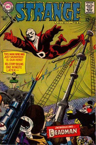 Deadman.  Infantino co-created Deadman.  I freaking LOVE Deadman.