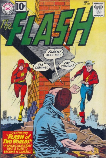 The whole Earth-2 meshuga that DC Comics is still dealing with.  Carmine's there for that one.