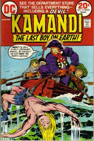 Which led to the creation of my favorite comic book series of all time.