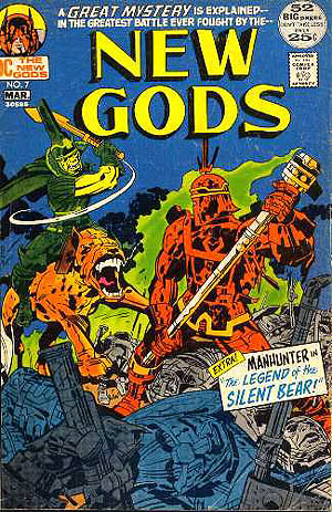 Infantino is the one who lured Kirby over to DC Comics when Carmine was made publisher...