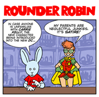 With all the links I've put up this week, I'll bet you're ignoring this link to last week's Bun Toon.  Go ahead, I don't mind.