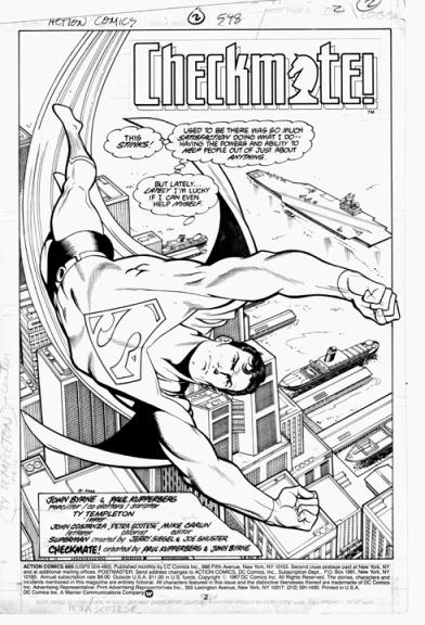 Superman Splash 598