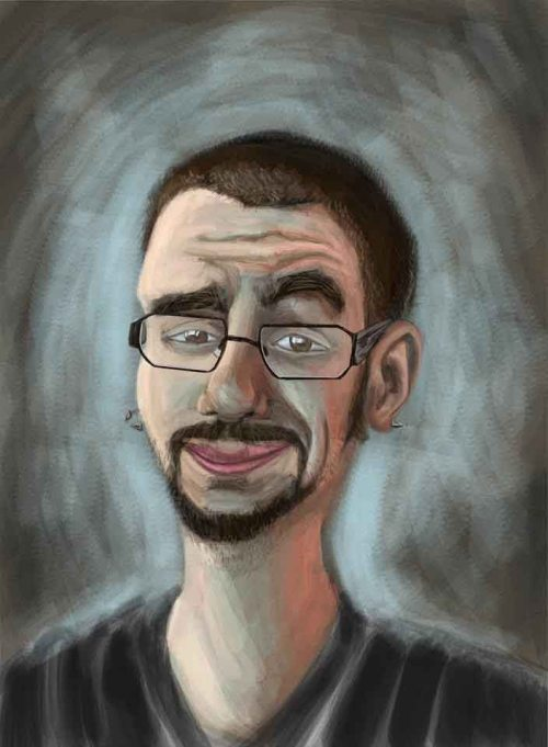 kellam self portrait