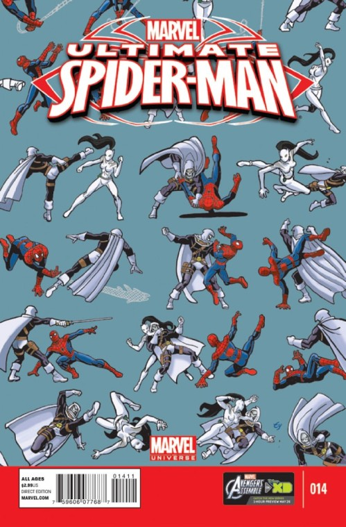 A cover I've always wanted to do...just the punching and leaping, and lots of it!