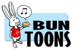 For The Bun Toon Archive, click the happy singing pastry.