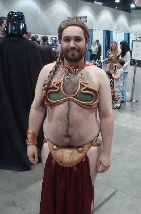 "Under the ""O"" ...hairy man-slave Leia!"