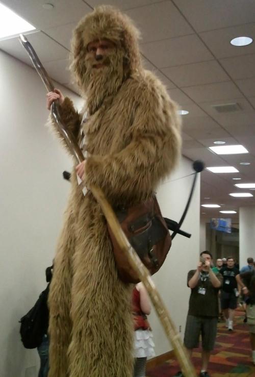 Figure One:  The Stilt Wookie!