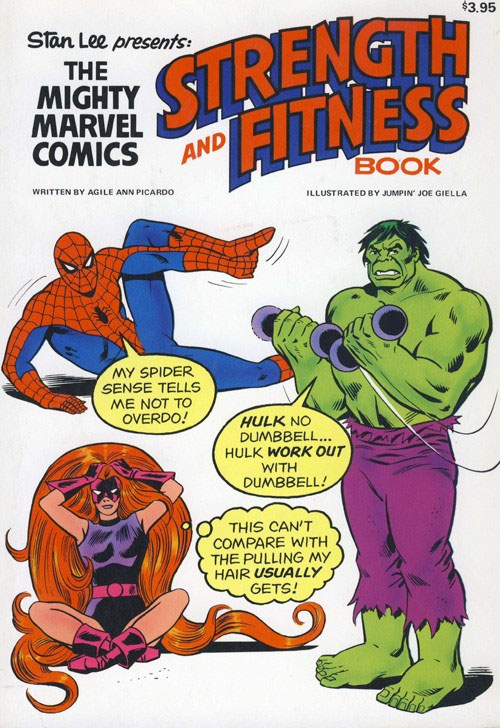 strength and fitness marvel style