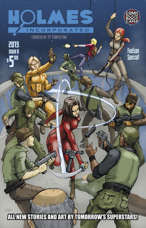 Daniel Wong 2013 cover b issue