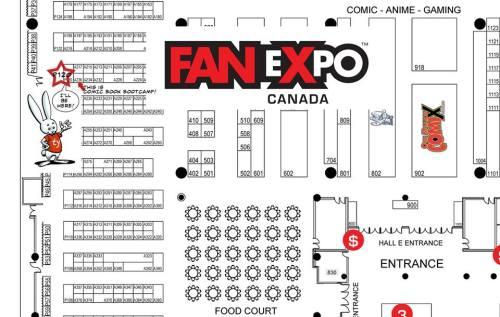 fanexpo map