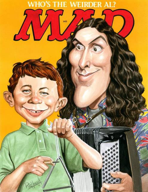 weird al mad cover