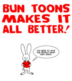 Click here for LAST WEEK'S controversial DC Comics moment...all fixed by the Bun Toon.
