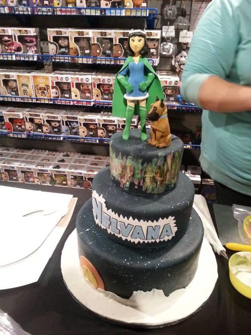 Nelvana cake