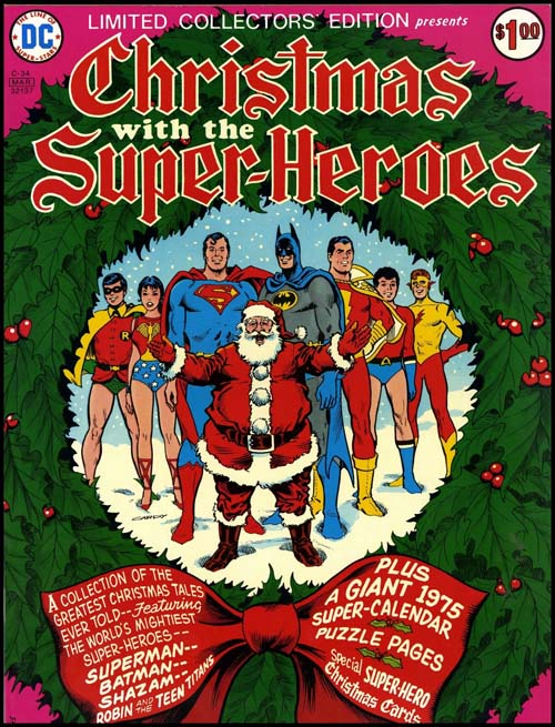 christmas with superheroes