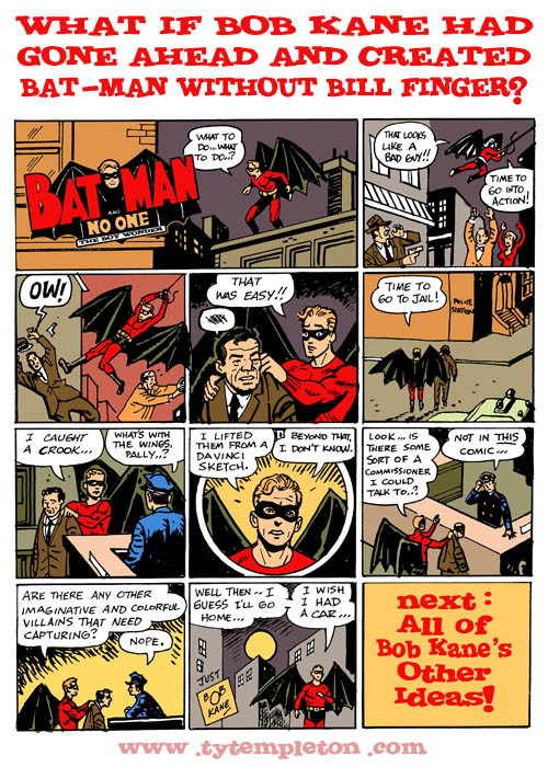 BATMAN WITHOUT BILL