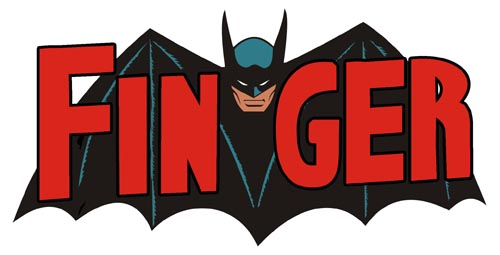 finger batman logo