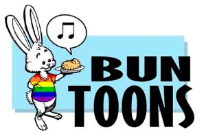 The Bun Toon archive, where you can search for more urinal adventures.  I'm sure there's more....