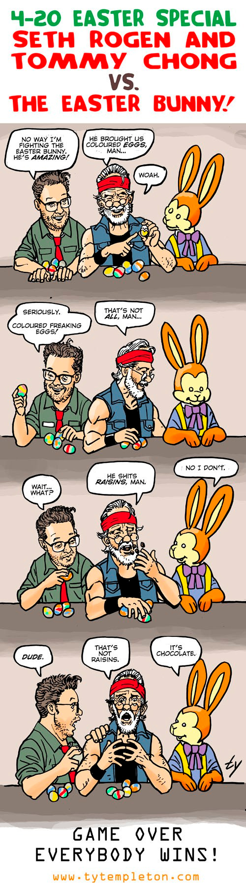 easter bun toon spelling corrected