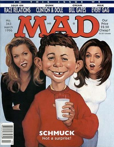 This was the first issue of Mad Magazine to include my work.