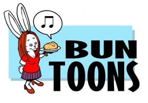 For last week's LADY themed Bun Toon, click here