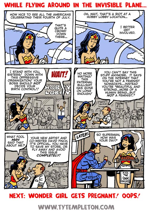 Wonder Woman vs Hobby Lobby