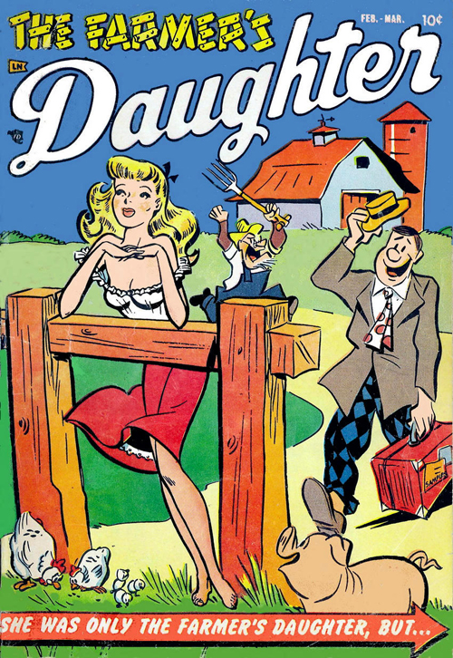 farmer's daughter comics