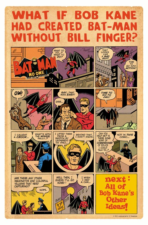 fingerless batman poster websize