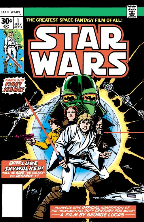 Absolutely everyone who is my age remembers when this comic came out...months before the movie was released, giving away huge plot spoilers and secrets...ah, happy times.